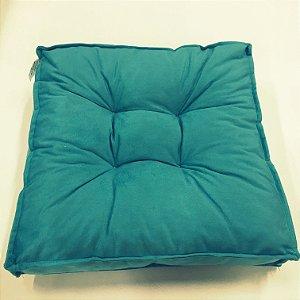 Futton almofada turco Macio 40x40cm Verde Tiffany