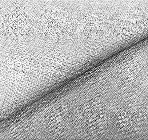 Tecido linho Rustico Clássico Linen Look Prata