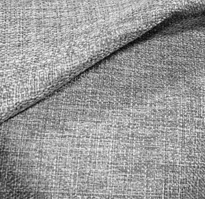 Tecido linho Rustico Clássico Linen Look Cinza