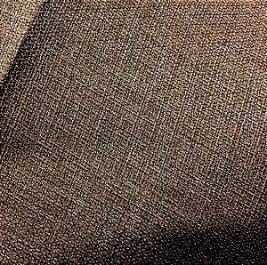 Tecido linho Rustico Clássico Linen Look Marrom