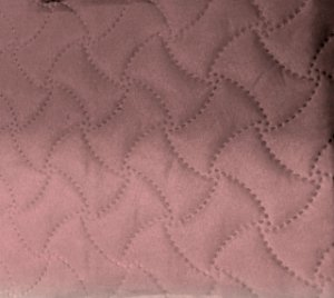 Porta Travesseiros Matelado Rosê Macio 50 x 70 cm