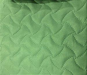 Porta Travesseiros Matelado Verde Claro Macio 50 x 70 cm