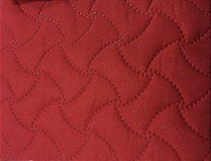 Porta Travesseiros Matelado Vermelho Macio 50 x 70 cm