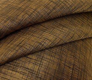Tecido para cortinas Voil Cross 05 Chocolate com 3 metros de largura