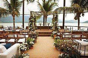 Passadeira Carpete 2m Largura Bege Para Casamento, Festas 15 Metros de comprimento