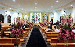 Passadeira Carpete 2m Largura Preto Para Casamento, Festas 20 Metros de comprimento