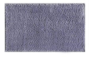 Tapete para Sala Antiderrapante Silky Prata 1,00x1,50