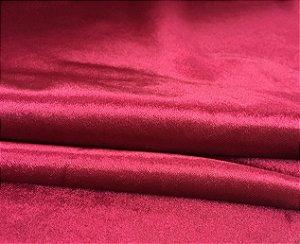Tecido Veludo Molhado Gold Liso Pink