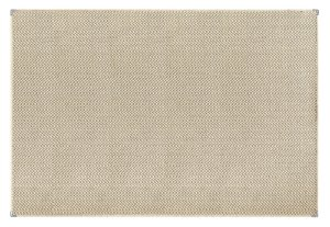 Tapete para Sala Sisal Antiderrapante com Proteção de Borda Sisle Chevron 1,00x1,50