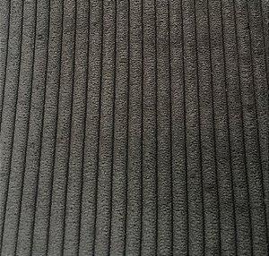 Tecido Veludo Cotelê Cinza Escuro 04