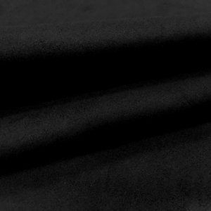 Tecido Suede Preto Liso - 11