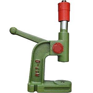 Maquina para forrar botão Nº 07 - Alavanca para frente