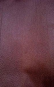 Tecido suede Zebu Chocolate - 04