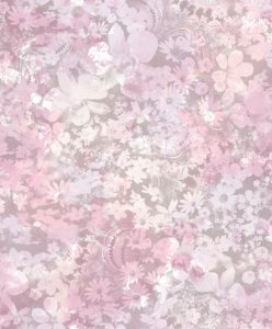 Papel de Parede Freestyle Flores Lilas e Branco - L39103