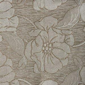 Tecido Jacquard Areia Floral - PAR 12