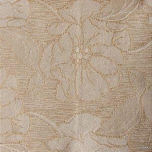 Tecido Jacquard Creme Floral - Par 18