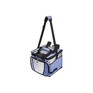 Ice Cooler Azul e Prata 24 Litros 1 Divisória