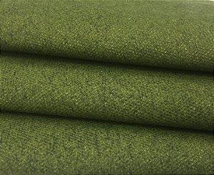 Tecido Estilo Linho Impermeável Verde Folha Liso - Ilhabela 03