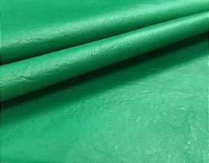 Tecido Corino Verde Bandeira