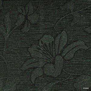 Tecido Jacquard Musgo Hibisco - Par 49
