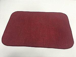 Capacho de Tecido Pop Vermelho 40 x 60 cm