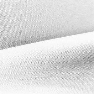 Tecido BlackOut Linho Mônaco Estilo Seda Branco 2,80m de Largura