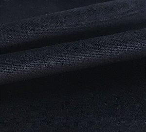Tecido Veludo Soft Preto Liso
