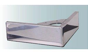 Pe para sofá de alumínio cantoneira 16x16x5 cm