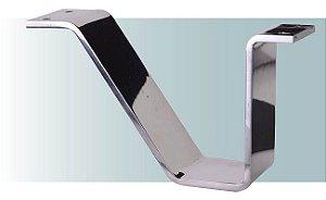 Pe para sofá de alumínio chanfrado canto 10 cm - AR88
