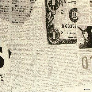 Tecido Linho Jornal Impermeabilizado - Can 55