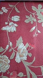 Tecido Suede Floral Borgo e Bege  - Esmeralda 10