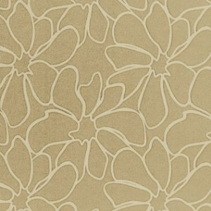 Papel de Parede Diamond Floral Bege e Creme - CP140405