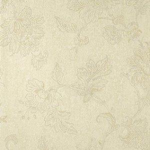 Papel de Parede Diamond  Bege claro Floral Texturizado - DF650602