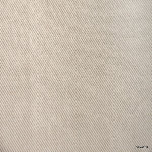 Tecido Sarja Bege Claro - Peletizada, para sofá, cadeiras, poltronas e capas com 265 gramas