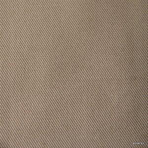 Tecido Sarja Capuccino Peletizado, com 1,60 metros de largura