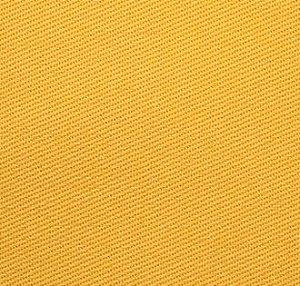 Tecido Sarja Amarelo Peletizada com 1,60 metros de largura