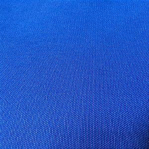 Tecido Sarja Azul Royal peletizada com 1,60 metros de largura