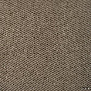 Tecido Sarja Caqui Peletizado, com 1,60 metros de largura