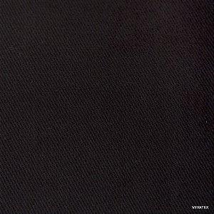 Tecido Sarja Preto - Peletizada, para sofá, cadeiras, poltronas e capas