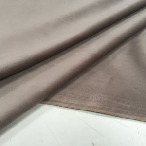 Tecido veludo liso Cor Camurça - Valor de venda em atacado(Rolos), ler detalhes abaixo
