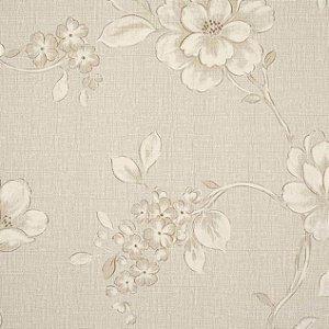 Papel de Parede Goteborg, Floral Bege Claro - GT28992