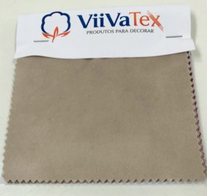 Mostruário de Tecido Veludo Ultraconfort Viivatex - Amostra de 10x10 cm.