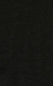 Tecido Chenille Viscose Preto Liso - RUS 01