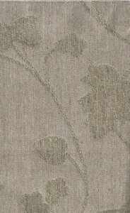 Tecido Chenille Viscose Floral Bege Escuro - RUS 20