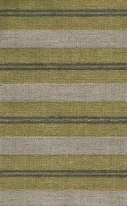 Tecido Chenille Viscose Listrado com Bege Escuro e Mostarda - RUS 26