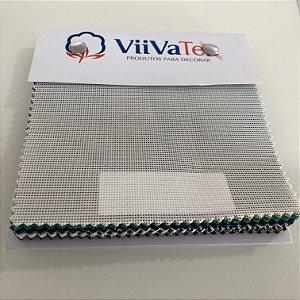 Mostruário de Tela Sling Viivatex - Amostra de 10x10 cm.