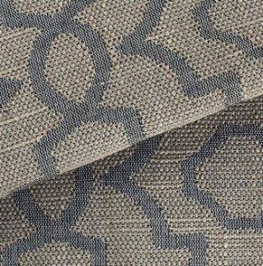 Tecido para Sofá Linho Rústico Gradil Azul- Vice 11
