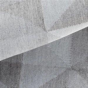 Tecido para Sofá Linho Rústico Triângulos Caqui- Vice 37