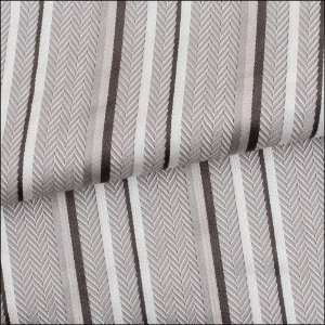 Tecido para Sofá e Estofado Jaquard Cinza Listras Ferr - 02