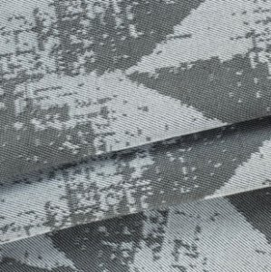 Tecido para Sofá Linho Rústico Geométrico Cinza Chumbo- Vice 45